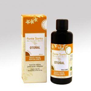 Aceite ecológico facial otoñal, Fonte Santa