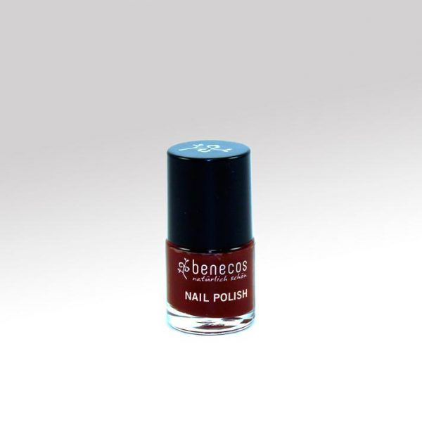 Esmalte de uñas Cherry red, Benecos