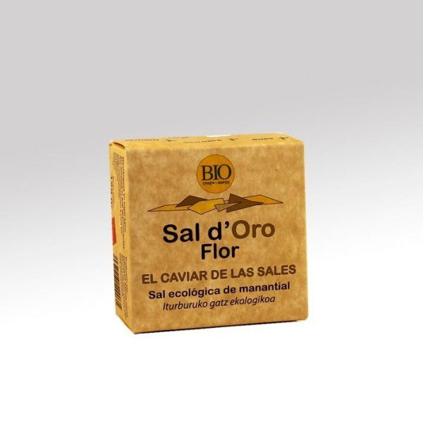 Sal ecológica de manantial, Flor d´Oro Bio