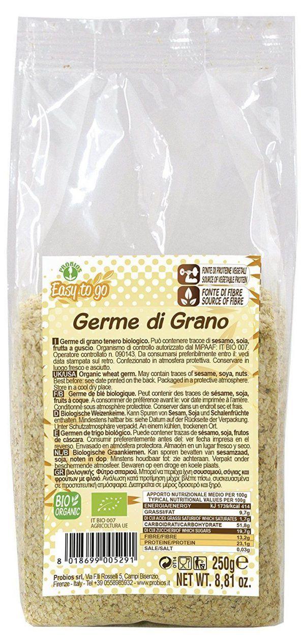 Germen de trigo 250g, Probios