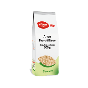 Arroz Basmati Bio 500 g, El Granero