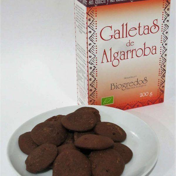 Galletas de Algarroba 200g sin gluten, Biogredos