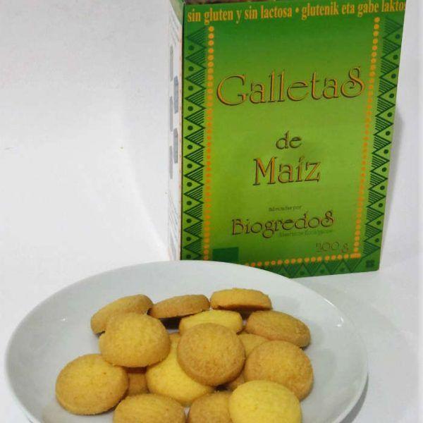 Galletas de Maiz 200g sin gluten, Biogredos