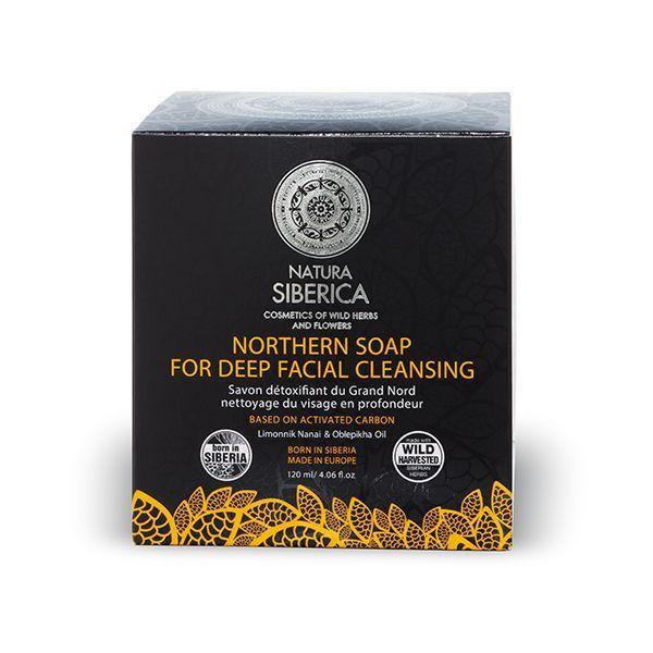 Jabón negro Nórdico detox 120 gr, Natura Sibérica