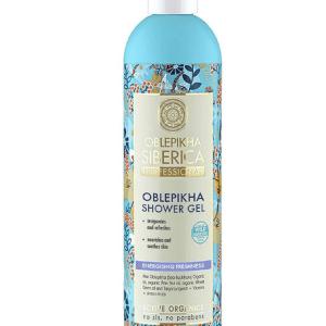 Gel de ducha de frescor energizante 400 ml, Oblepikha