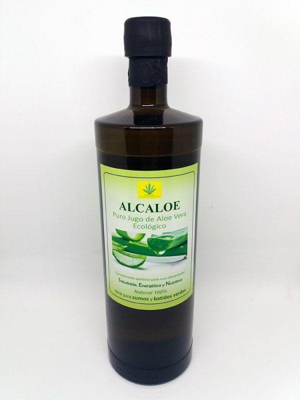 Zumo de Aloe Vera 1L, Alcaloe