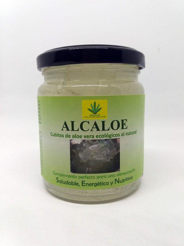 Daditos de Aloe Vera al natural 240g, Alcaloe