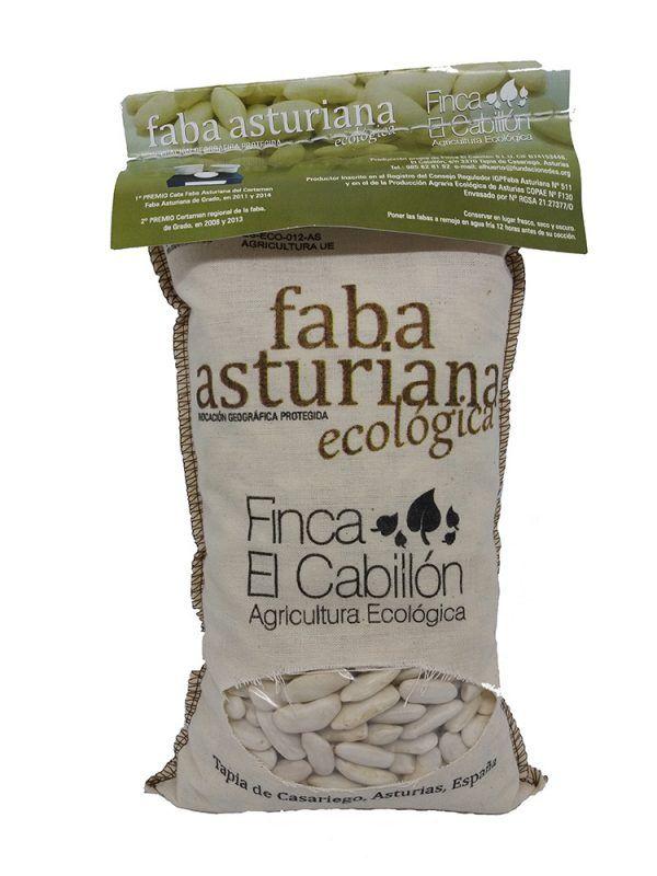 Faba Asturiana ecológica 1kg, El Cabillón