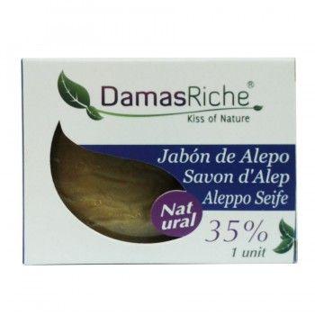 Jabón de Alepo Natural 200g, Damasriche