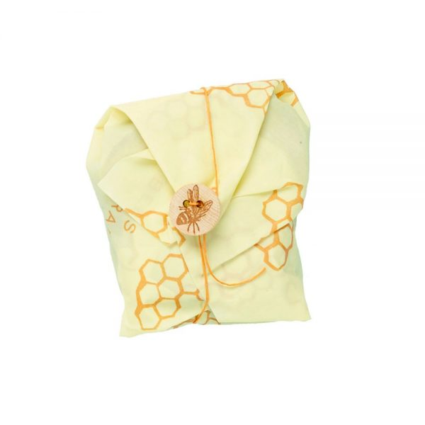 Envoltorio de cera de abeja sandwich modelo panal, Bee's Wrap