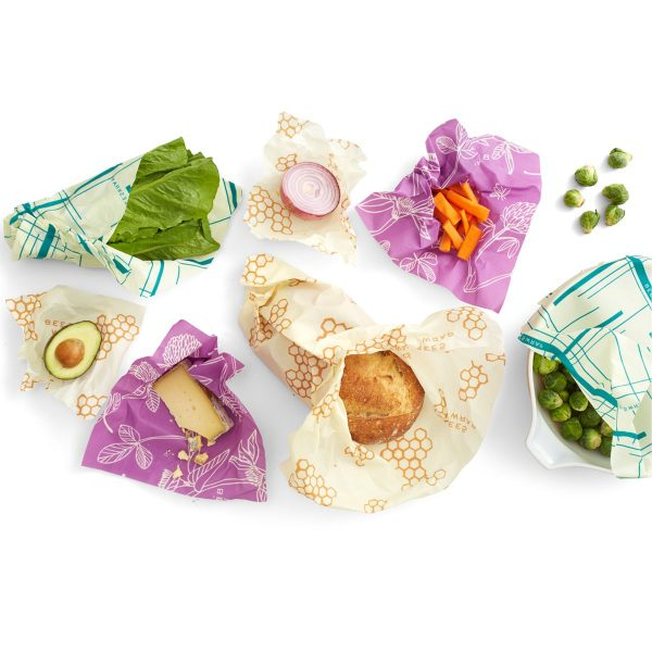 Envoltorio de cera de abeja pack Variety, Bee´s Wrap