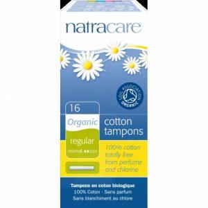 Tampón regular con aplicador, Natracare