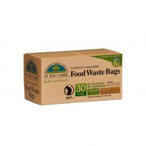 Bolsas de basura compostables 11l, If your care