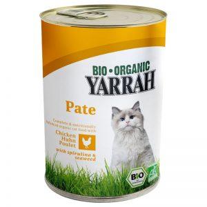 Paté de pollo en lata para gatos, 400g, Yarrah