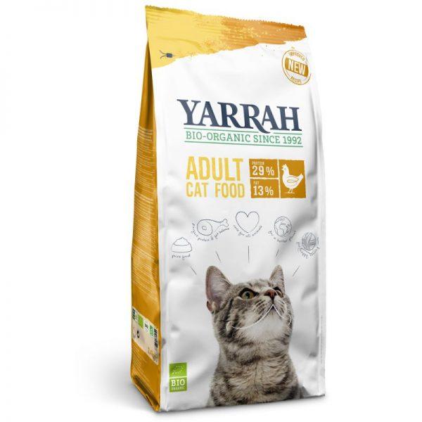 Pienso con pollo para gatos 2,4 kg, Yarrah