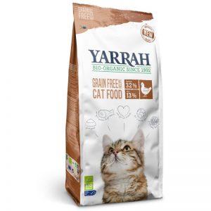 Pienso para gatos con pollo y pescado, sin cereales, Yarrah