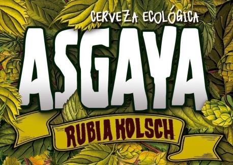 Cerveza rubia Kolsch, Asgaya
