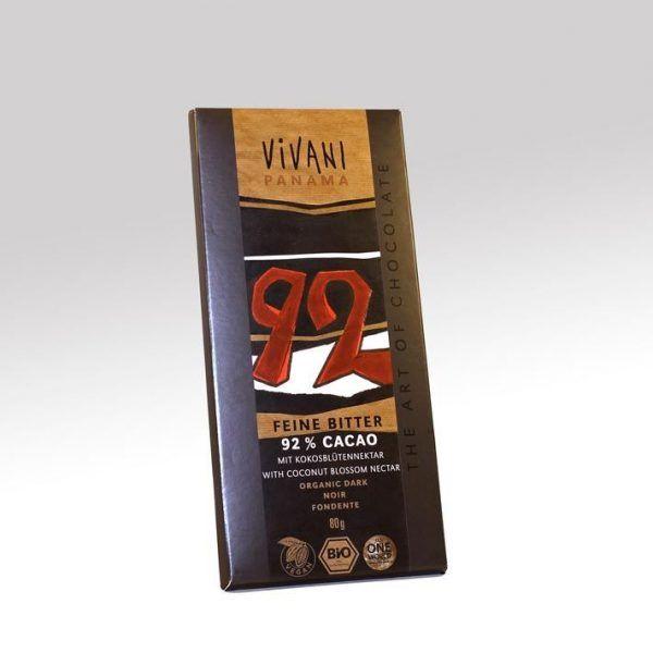 Chocolate Vivani 92% cacao
