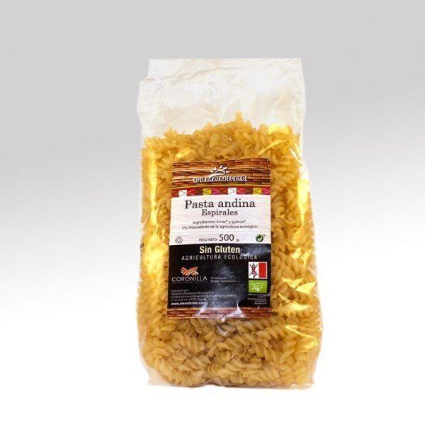 Espirales de pasta andina, Aleander