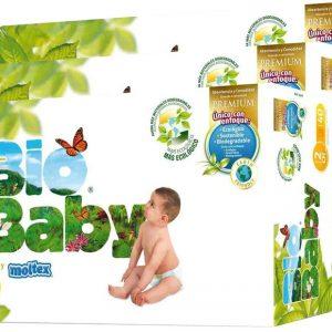 Pañales desechables T2 (5-8kg), Bio Baby