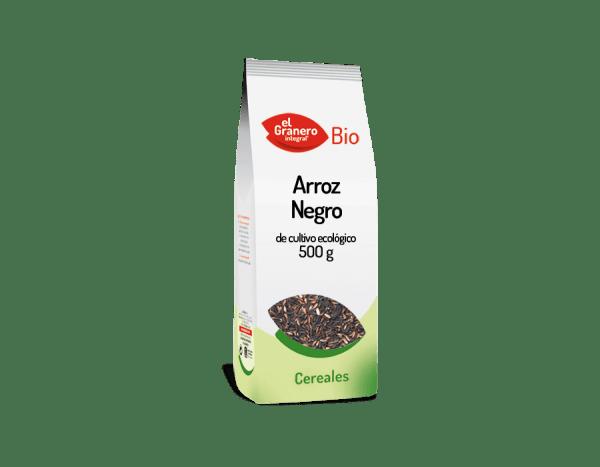 Arroz negro 500g, El Granero