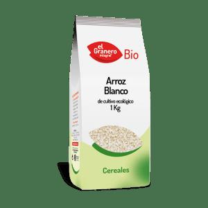 Arroz Blanco 1kg, El Granero Integral