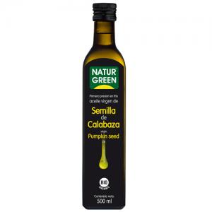 Aceite Semilla de Calabaza Bio 500 ml, NaturGreen