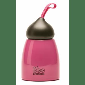 Botella reutilizable 260 ml. acero inoxidable,Bbo Irisana.