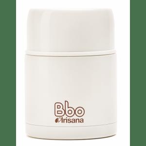 Termo para alimentos de 600 ml en acero inoxidable, Bbo Irisana.
