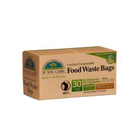 Bolsas de basura compostables, If you care