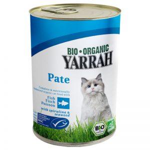 Paté de pescado en lata para gatos, 400 g, Yarrah