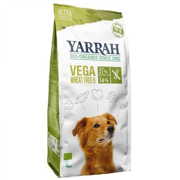 Pienso vegano sin trigo para perros, 10kg, Yarrah