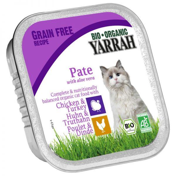 Tarrina con pavo para gatos, Yarrah