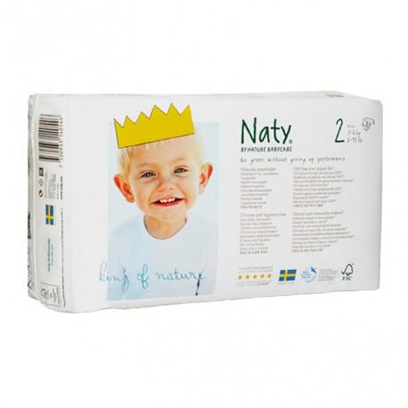 Pañal Naty talla 2
