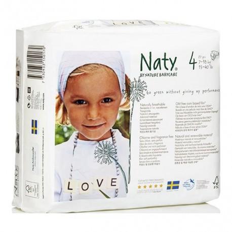 Pañal Naty talla 4
