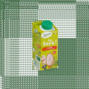 Crema para cocinar de soja bio, 200ml