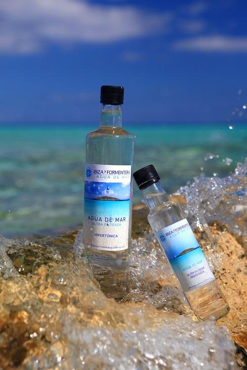 Agua de mar ultra filtrada, 750 ml
