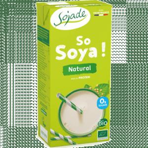 Bebida de soja natural bio 1l, Sojade
