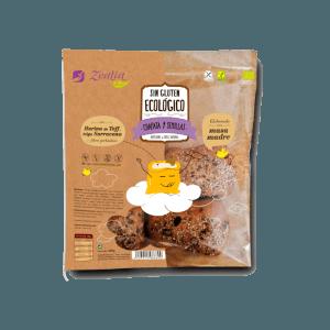 Chapata 7 semillas sin gluten ecológica, Zealia