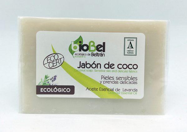 Jabón coco ecológico 240g, BioBel