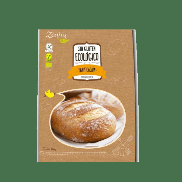 Harina panificación sin gluten ecológica, Zealia