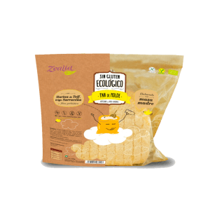 Pan de molde sin gluten ecológico, Zealia