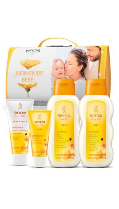 Set bienvenida para bebé de Weleda