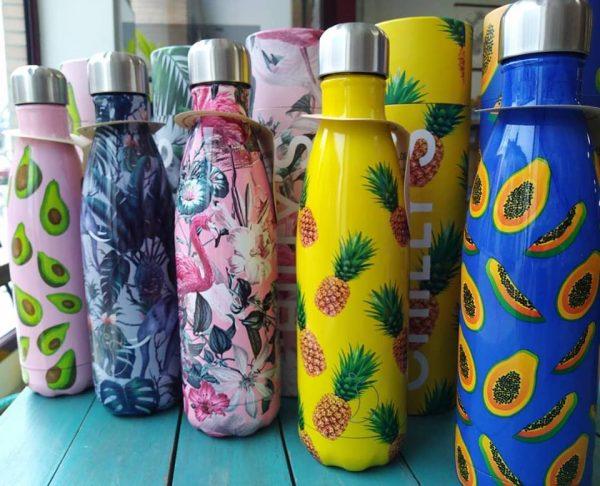 Botella termo Chilly Iconos Piñas, 500ml