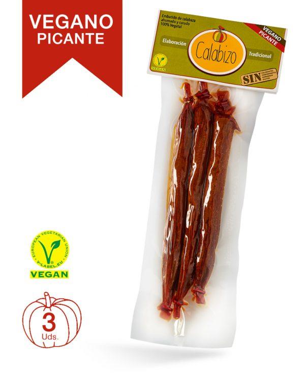Calabizo vegano picante, pack 3 uds.