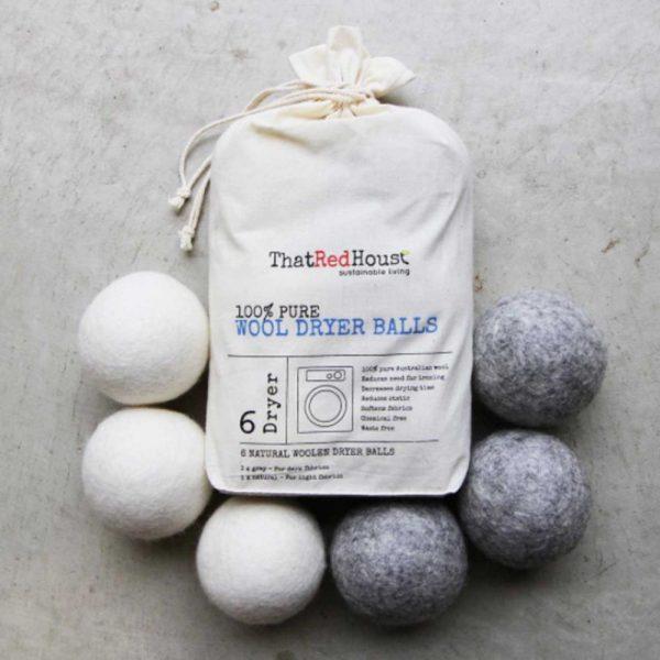 Bolas de lana para secadora