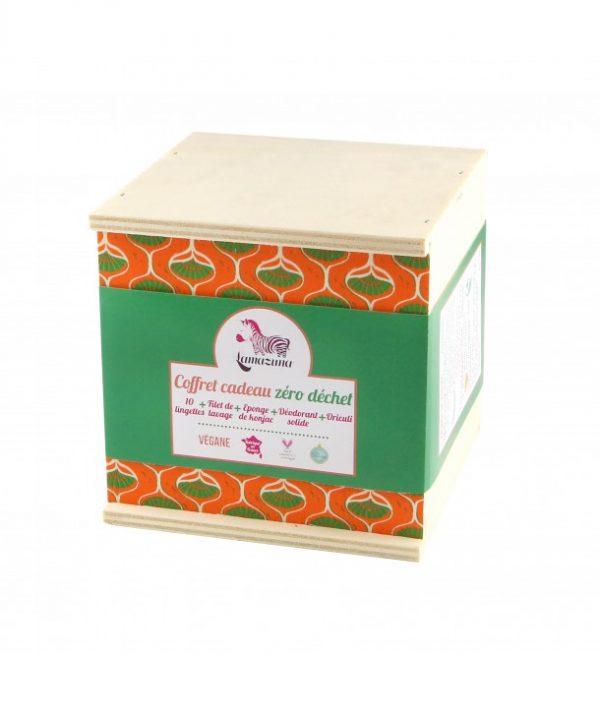 Caja regalo cero residuos toallitas limpiadoras