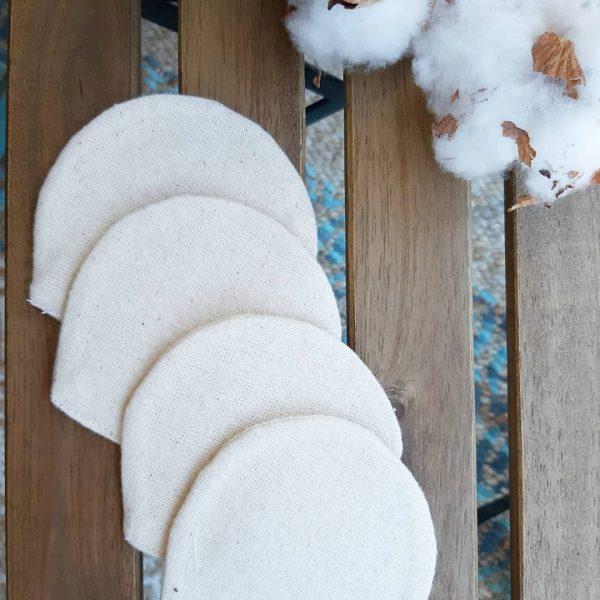 Discos faciales de algodón bio