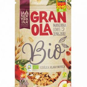 Granola Manzana Loves Jengibre, La Newyorkina
