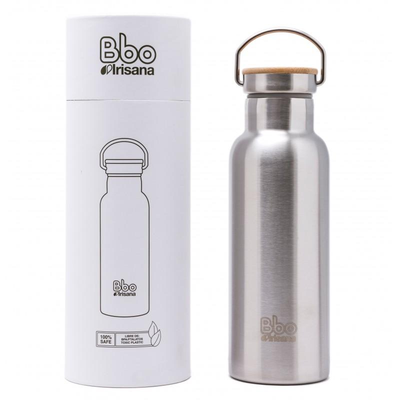 Botella Fabricada en Acero Inoxidable 304 de 500 ml de Capacidad.
